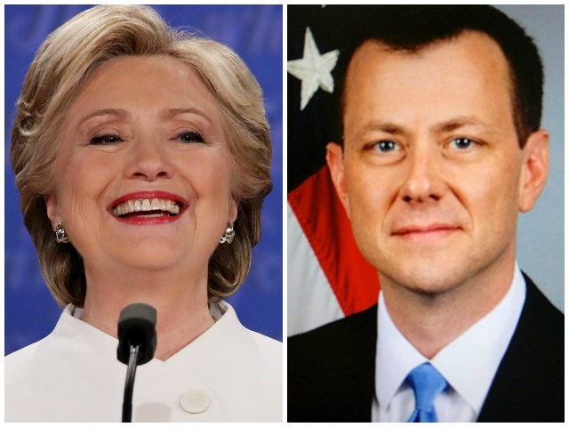 Page-Strzok text: 'POTUS wants to know everything we're doing'