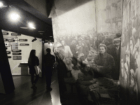 Visitors to the POLIN Museum of the History of Polish Jews look at exhibits from the Warsaw Ghetto of the World War II, in Warsaw, Poland, Thursday, Feb. 1, 2018. Poland and Israel are locked in a bitter dispute over Poland's new legislation that is to regulate Holocaust speech. (AP …