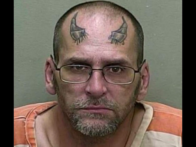 Florida Man with 'Devil Horns' Forehead Tattoo Arrested for Alleged Marijuana Possession