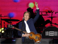 Paul McCartney performs on stage during The Out There Tour 2015 on May 2, 2015 in Seoul, South Korea. (Photo by Chung Sung-Jun/Getty Images)