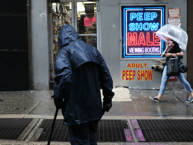 a peep show in New York City