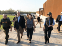 Vice President Tours Border with Sen. Ted Cruz and DHS Secretary: 'Build the Wall'
