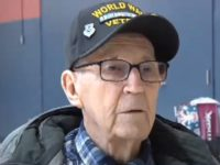 VIDEO: Elementary School Students Surprise WWII Veteran with Gifts After He Lost His Home in a Fire