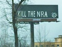 'Kill The NRA' Billboard on Interstate I-65