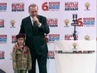 Erdogan to Five-Year-Old in Uniform: 'If She's Martyred, They'll Lay a Flag on Her, Allah Willing'