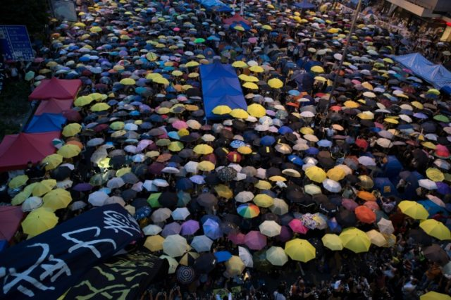 Wong, Law and Chow shot to prominence as leaders of the 2014 pro-democracy Umbrella Movement