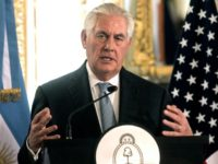 United States's Secretary of State Rex Tillerson said the US might consider oil sanctions against crisis-plagued Venezuela