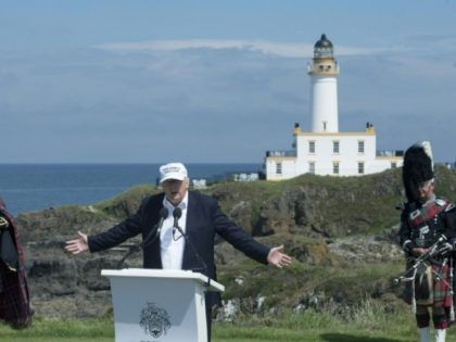 'Stop Trump's golf course' petition takes off in Scotland