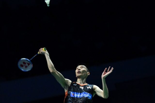 Lee Chong Wei, pictured in this December 17, 2017 file photo, cruised to a win over Angus Ng Ka Lung of Hong Kong