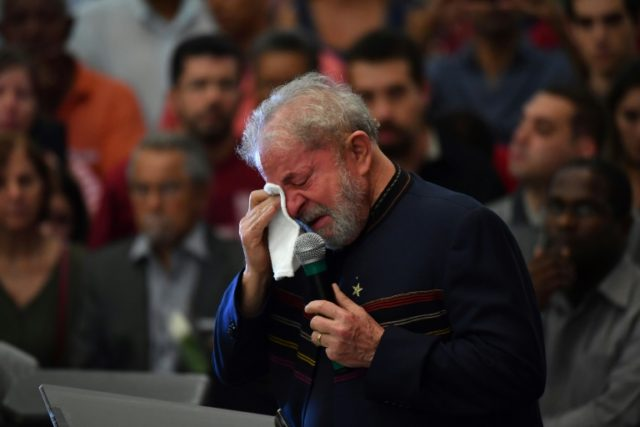 Former Brazilian president Luiz Inacio Lula da Silva is fighting to stay out of prison and run for re-election after being convicted of corruption