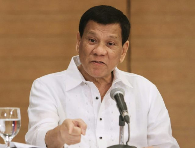 Duterte will 'go to war' if China crosses 'red lines'