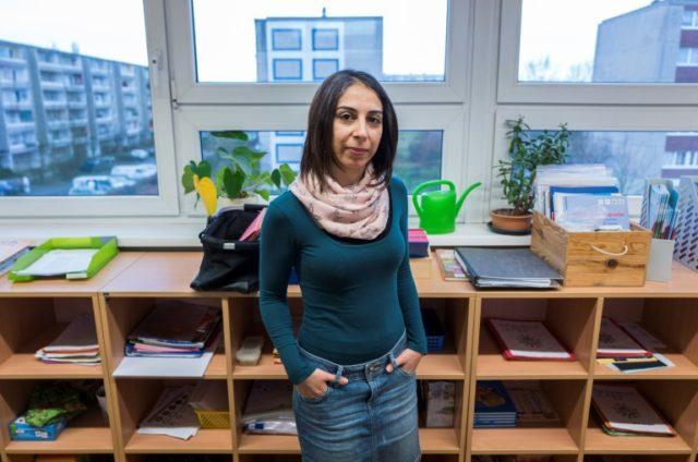 Lesson in endurance: Syrian refugee teacher enters German school