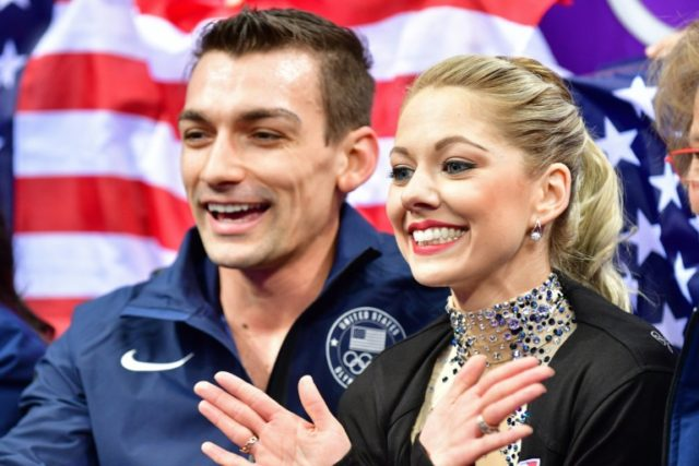 Love on ice -- skating and dating at the Olympics