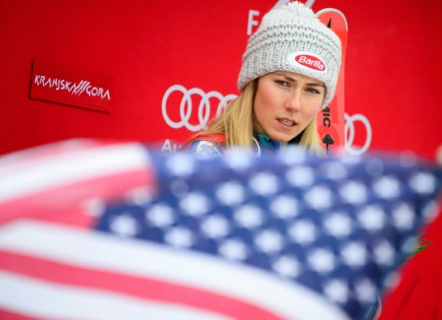 Mikaela Schiffrin is unable to race Monday after her giant slalom race at the Olympics was postponed by windy weather