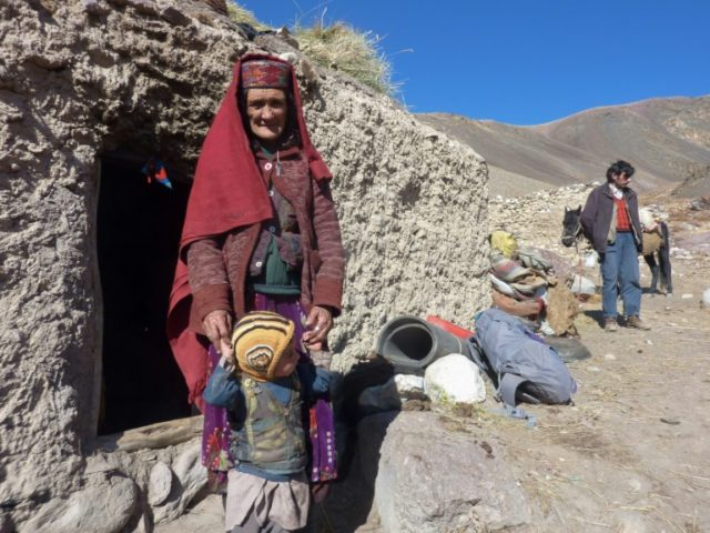 Sultan Begium lives Wakhan Corridor in Afghanistan, a region so remote that its residents are unaware that the country has been ravaged by war for decades