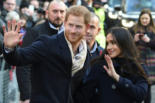 """""""Prince Harry and Meghan Markle are hugely grateful for the many good wishes they have received since announcing their engagement,"""" the palace said in a statement."""