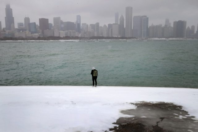 Chicago, no stranger to cold and snow as in this 2017 picture, braces for disruptions as a major winter storm sets in