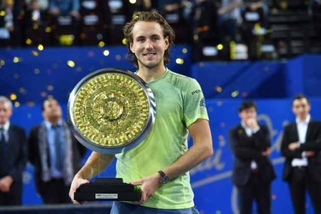 Lucas Pouille backs up his status as the top-ranked French player