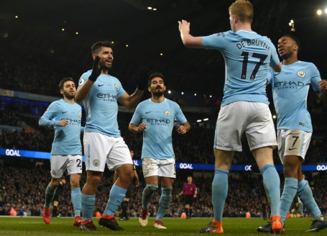 Sergio Aguero is relishing playing alongside the creative talents of Kevin De Bruyne