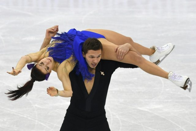 'Feels like home': Russian skater shrugs off Olympic ban