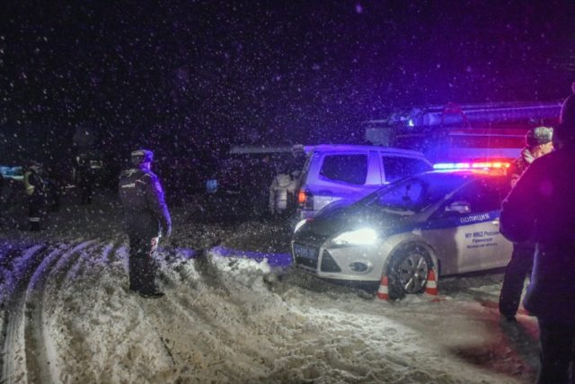The crash site outside Moscow was hard to reach and rescue efforts were hampered by heavy snow