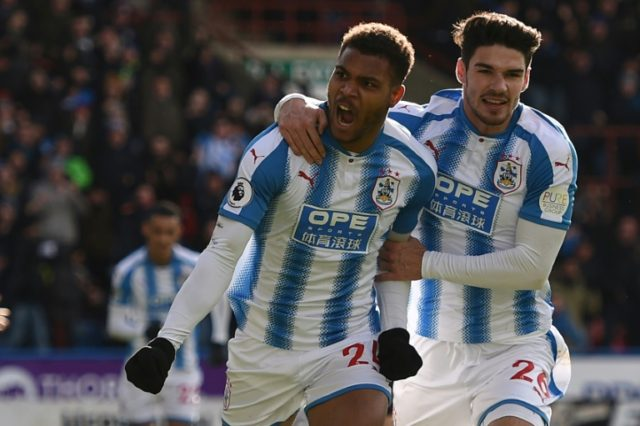 Steve Mounie scored his third brace of the season for Huddersfield