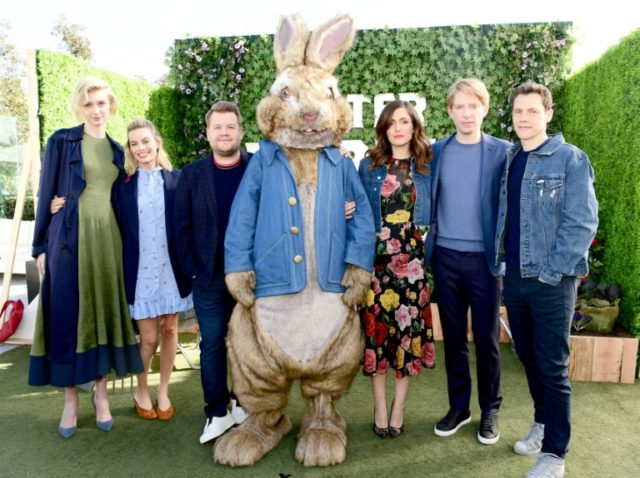Sony apologizes to parents over 'Peter Rabbit' food allergy scene
