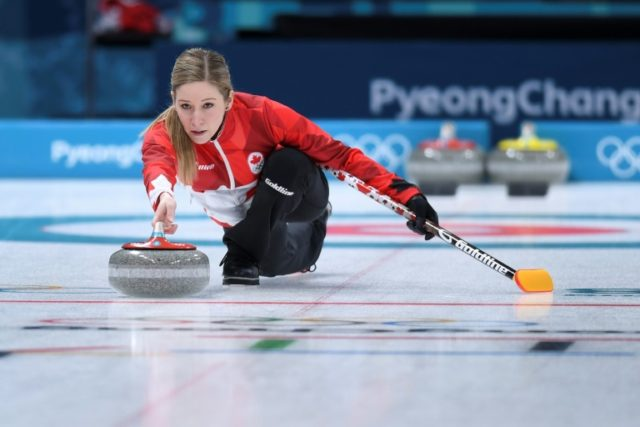 'It's not like darts!' Olympic curlers get prickly