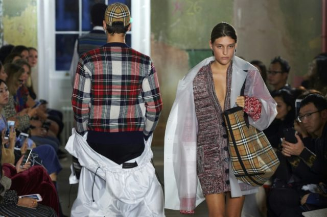 Bailey dedicates last Burberry collection to gay rights