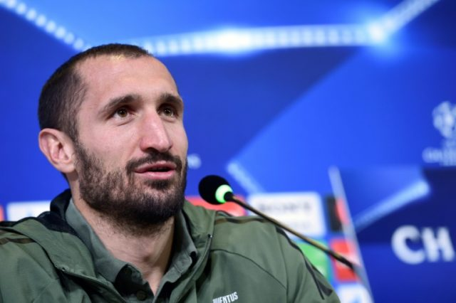 Giorgio Chiellini wants help in keeping Harry Kane quiet