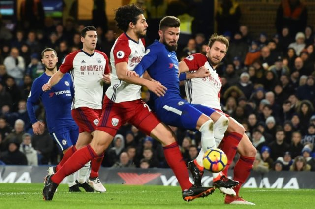 Conte relieved to have striker solutions in Giroud, Morata