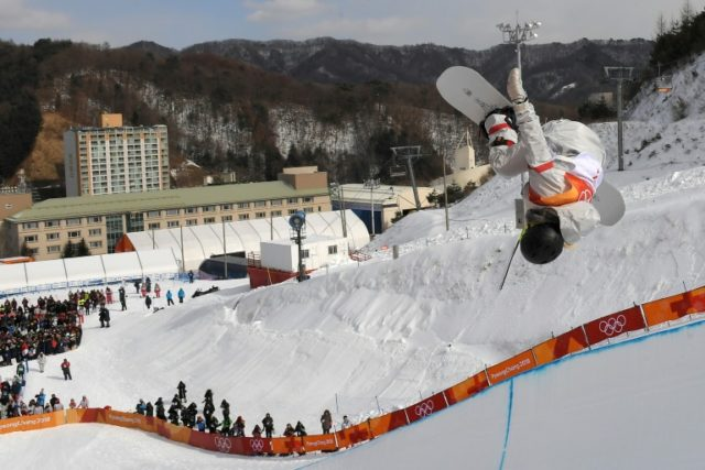American snowboarding sensation Chloe Kim had one thing on her mind after she nailed the top score in Olympic halfpipe qualifying with a jaw-dropping display Monday -- a well-deserved ice cream