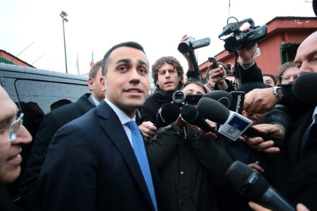 "Leader of the anti-establishment Five Star Movement Luigi Di Maio has vowed to ""root out bad apples"" in the party"