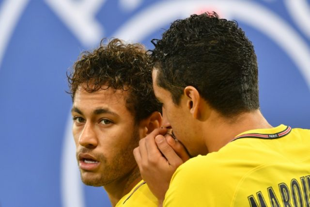 Marquinhos insists his teammate Neymar hasn't been affected by rumours of a move to Real Madrid