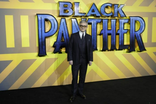 British actor Martin Freeman arrives for the European Premiere of 'Black Panther' in London