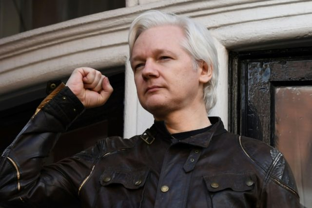 Wikileaks founder Julian Assange, shown in this May 19, 2017, file picture, will find out Tuesday February 13 whether the British arrest warrant hanging over him is to be cancelled