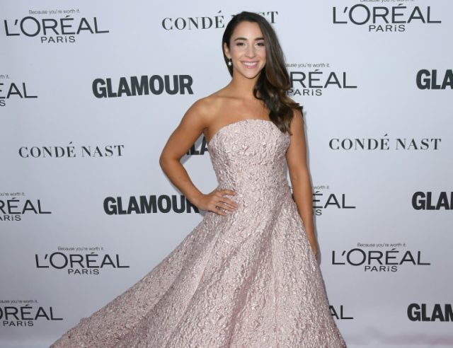 Raisman uses Swimsuit Issue to share message