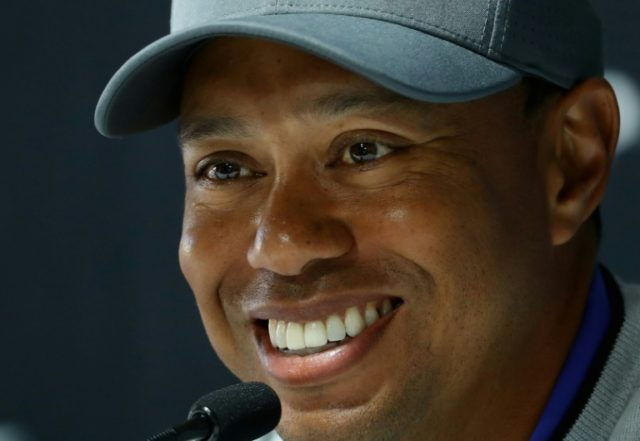 The 14-time major champion Woods is continuing his comeback from injury