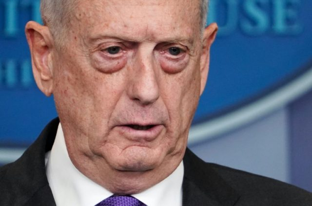 US Defense Secretary James Mattis headed for Rome for talks on Tuesday with other members of the anti-IS coalition