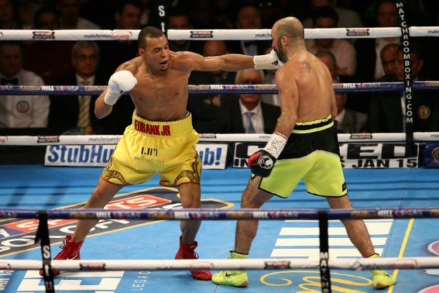 Eubank Jr says Groves bout will let him escape father's 'shadow'