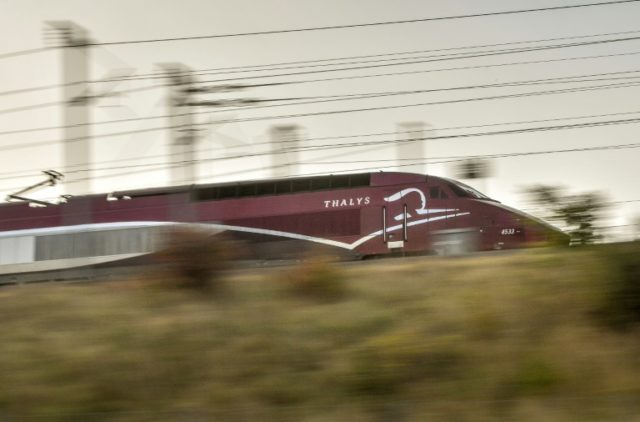 The thwarted shooting attack took place on a high-speed Thalys train travelling between Amsterdam and Paris