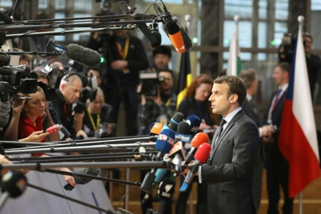 Macron boots French media from presidential press room