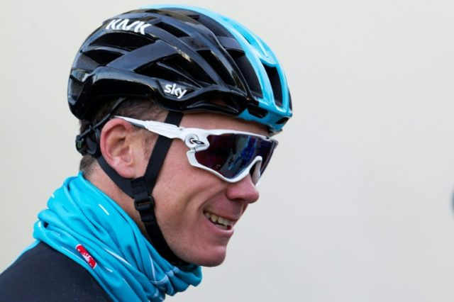 Chris Froome is beginning his season on the Ruta del Sol