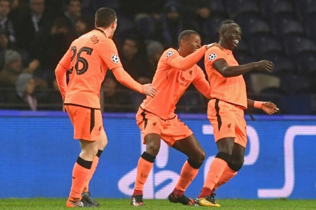 Mane hits hat-trick as Liverpool crush toothless Porto