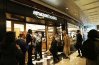 Amazon has become one of the world's biggest companies with a large online presence and a growing number of physical stores, such as this New York bookstore