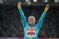 Australia's Sally Pearson is the 2011 and 2017 world champion and the 2012 Olympic champion in the 100 metres hurdles