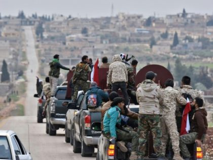 Hundreds of Syrian pro-regime fighters arrived in Afrin on Tuesday