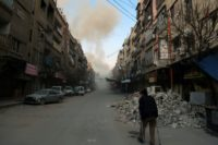 The draft resolution demands the lifting of all sieges including in Eastern Ghouta, where Syrian government forces are waging a fierce bombing campaign
