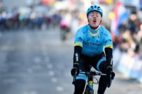 Denmark's Michael Valgren was the surprise winner of the Het Nieuwsblad, the opening one-day spring classic of the season