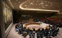 Members of the UN Security Council voted unanimously on a resolution demanding the 30-day ceasefire in Syria